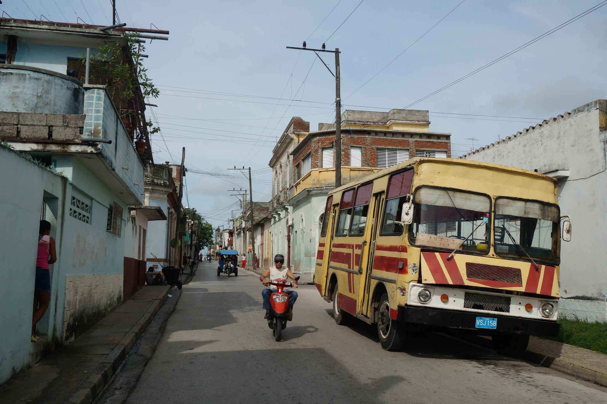 Calles de la ciudad de Santa Clara, Cuba