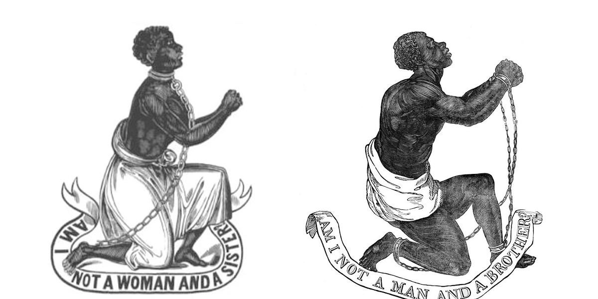 Usos revolucionarios de la fraternidad, por parte del movimiento abolicionista, reclamando el fin de la esclavitud.