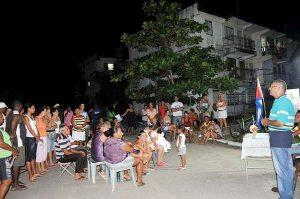asamblea de rendición de cuentas en Cuba