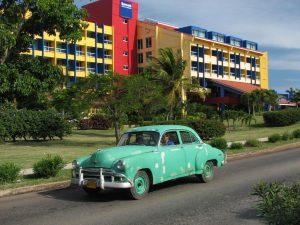 Vista del Hotel Barcelo Solimar, Varadero, uno de los polos más importantes del turismo en Cuba