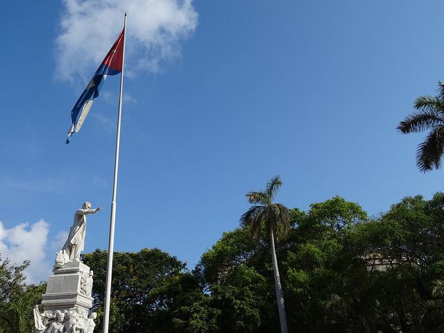 Estatua de José Martí en el Parque Central, La Habana. Foto: Dan Taylor-Watt