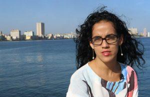 Mónica Baró, periodista cubana. Foto: FNPI.