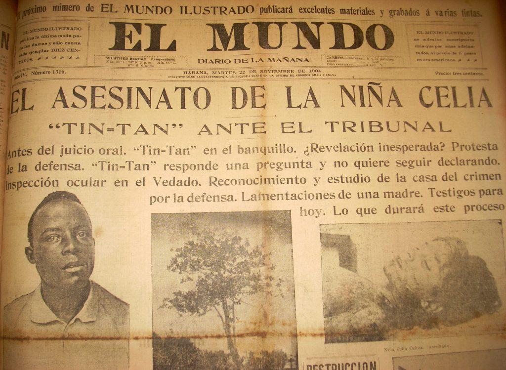 Periódico El Mundo, 1904
