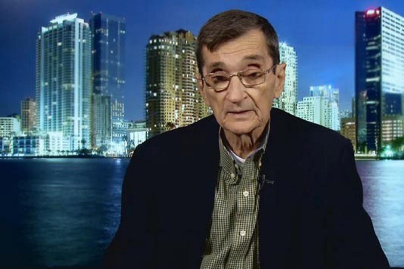 """Domingo Amuchástegui: """"Lo que buscan es el colapso económico, político y social en Cuba"""""""