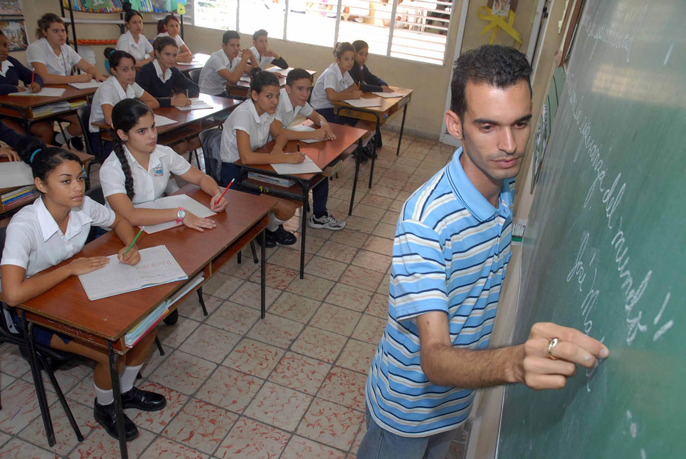 Los resultados de Cuba en educación se deben a que no se ha olvidado el valioso legado pedagógico cubano, cimentado en lo más significativo del mundo